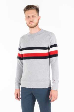 Sviiter SOFT GLOBAL STRIPE SWEATER-1