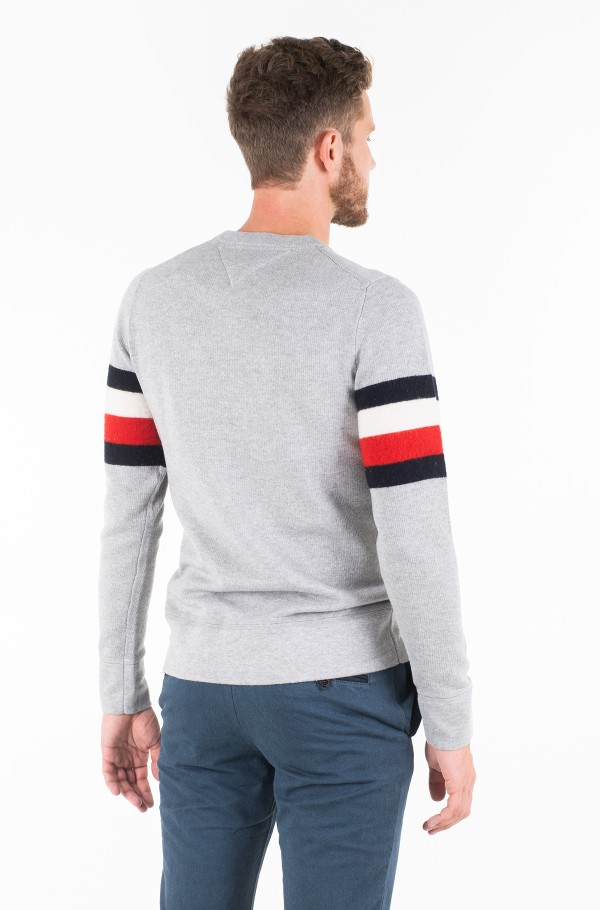 SOFT GLOBAL STRIPE SWEATER-hover