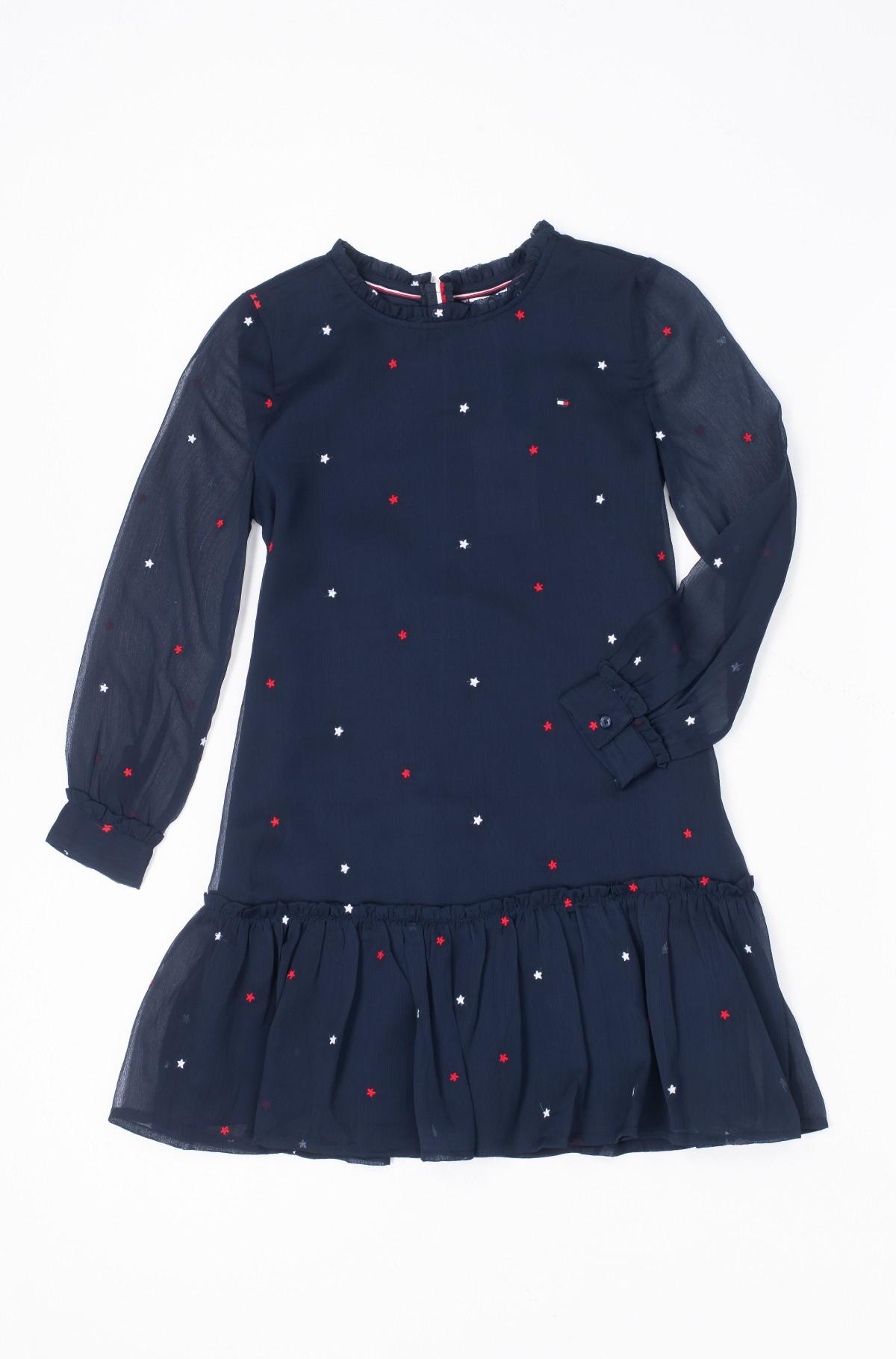 Vaikiška suknelė STAR EMBROIDERED DRESS-full-1