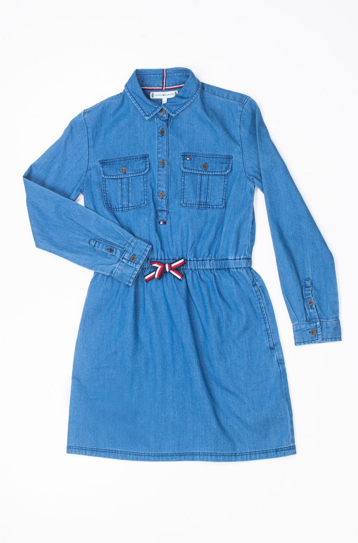 Laste kleit TOMMY DENIM DRESS-full-1