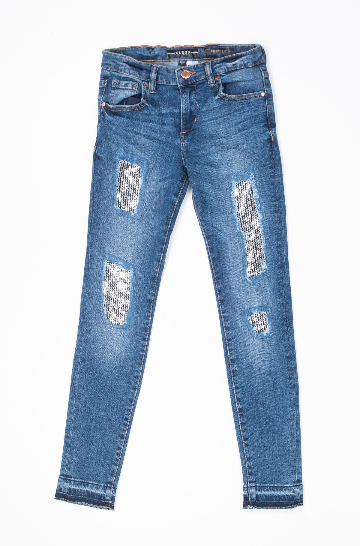 Vaikiškos džinsinės kelnės J93A08 D3QI0-full-1