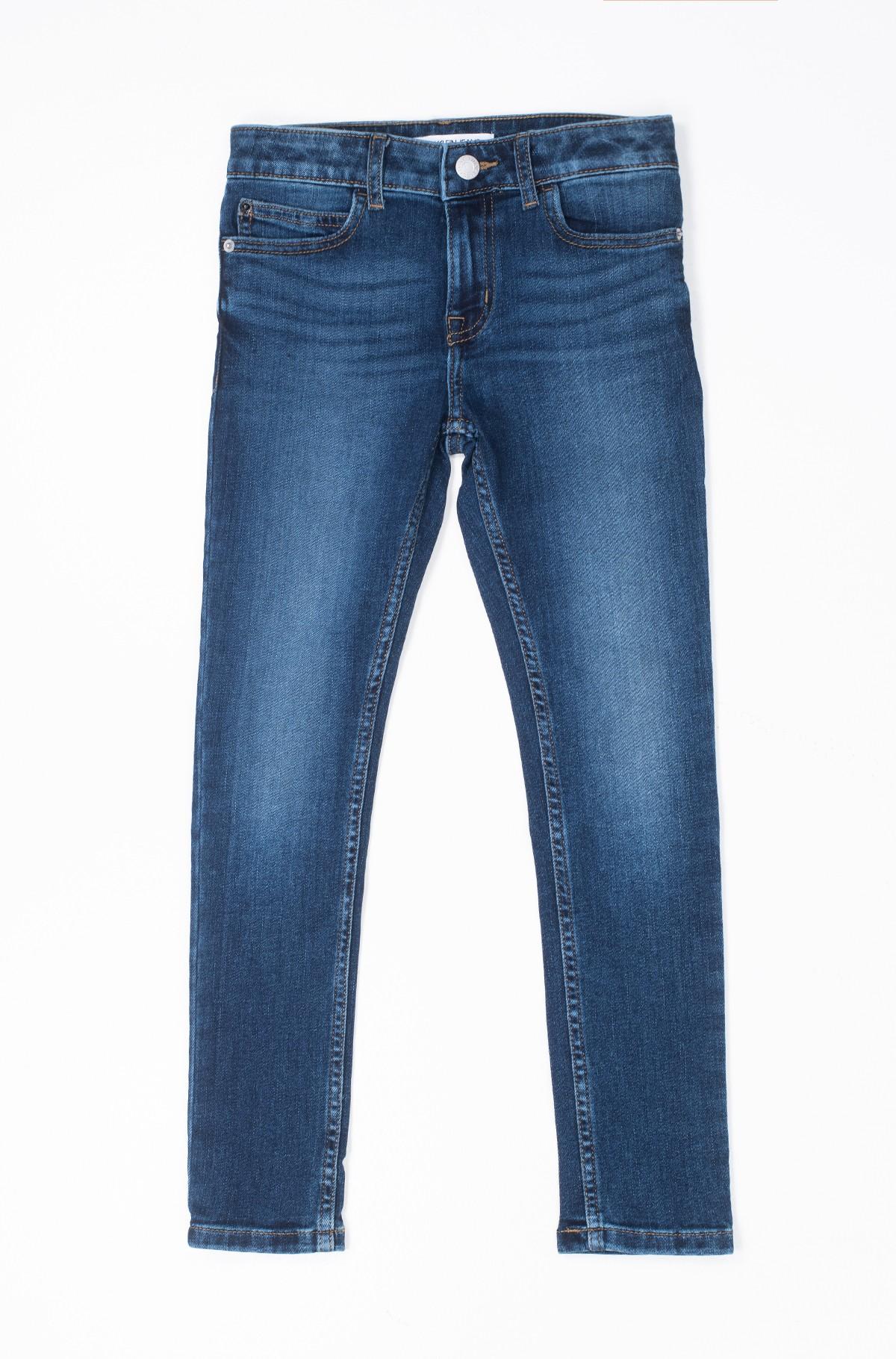 Laste teksapüksid SKINNY MR ESSENTIAL BLUE STR-full-1
