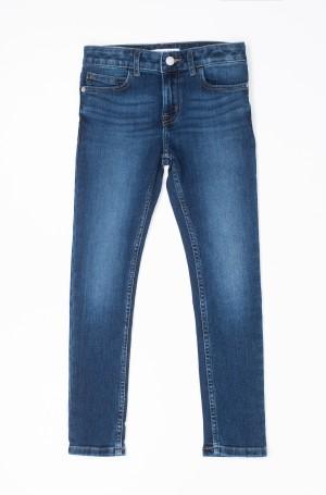 Laste teksapüksid SKINNY MR ESSENTIAL BLUE STR-1