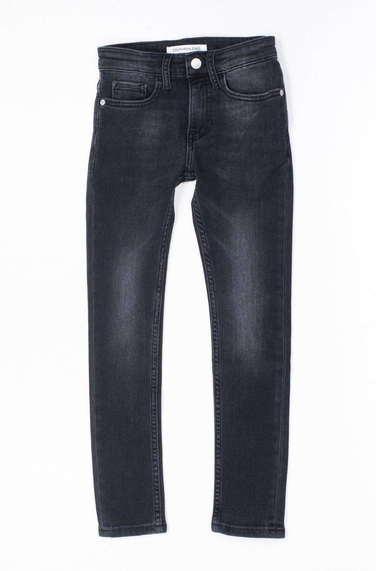 Vaikiškos džinsinės kelnės SKINNY RICKETY BLACK STRETCH-full-1