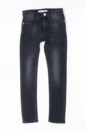 Vaikiškos džinsinės kelnės SKINNY RICKETY BLACK STRETCH-1