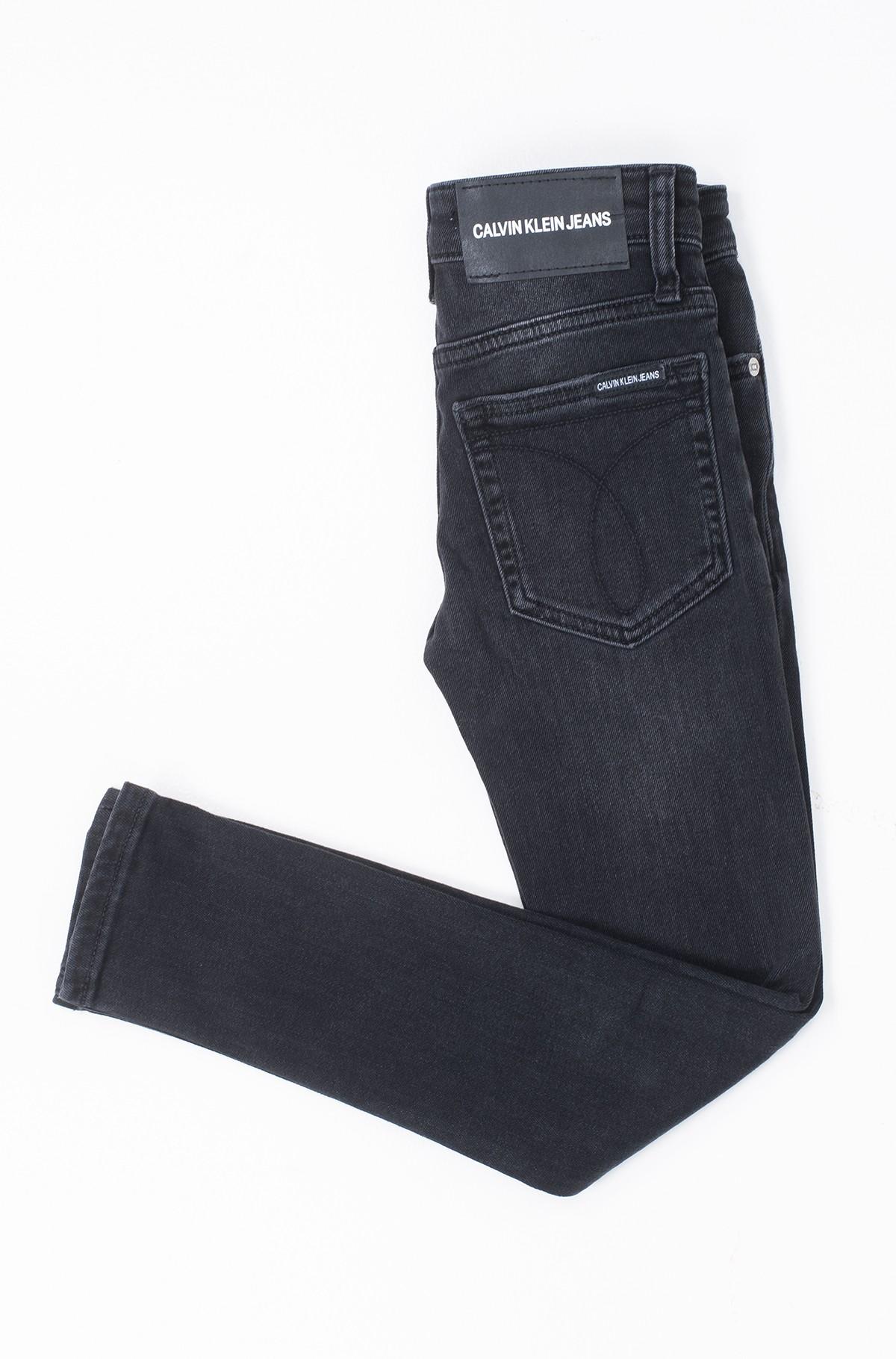 Vaikiškos džinsinės kelnės SKINNY RICKETY BLACK STRETCH-full-2