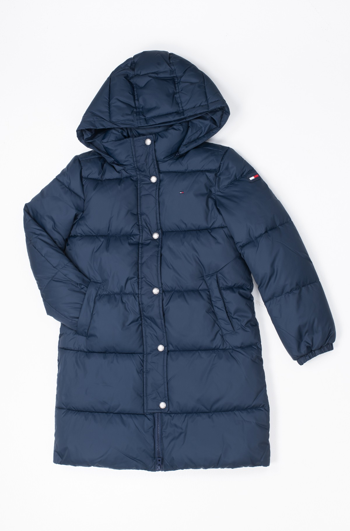 Laste mantel RECYCLED EXTRA LONG PUFFER-full-1