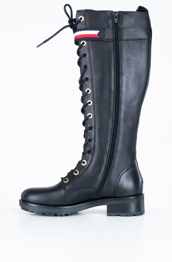 CORPORATE RIBBON BIKER LONGBOOT-hover