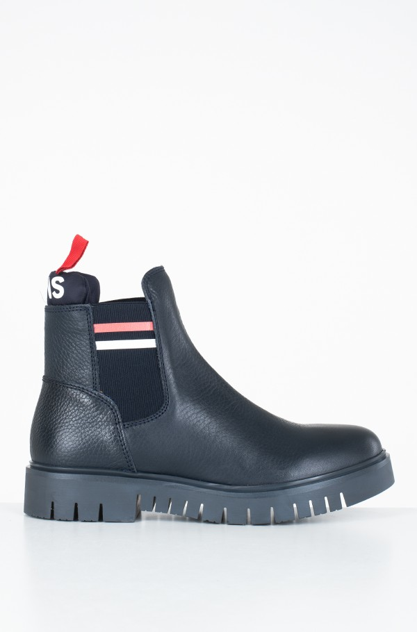 PADDED TONGUE TOMMY CHELSEA BOOT