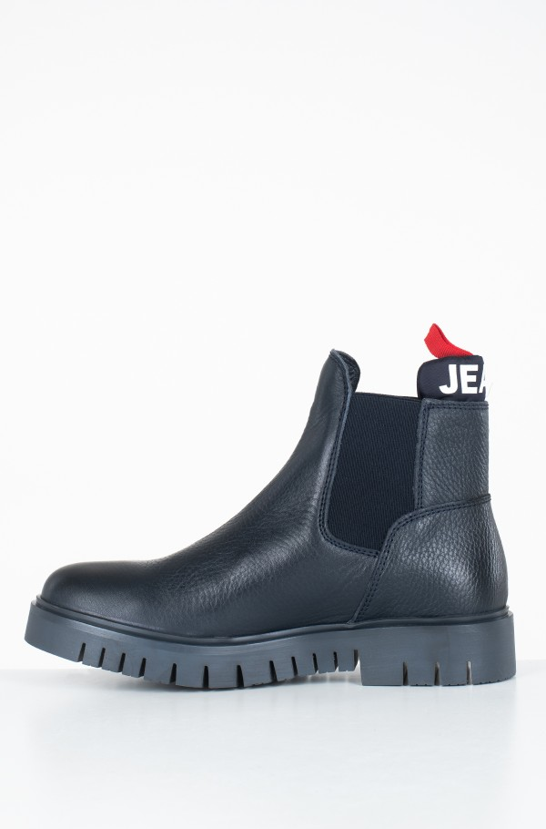 PADDED TONGUE TOMMY CHELSEA BOOT-hover