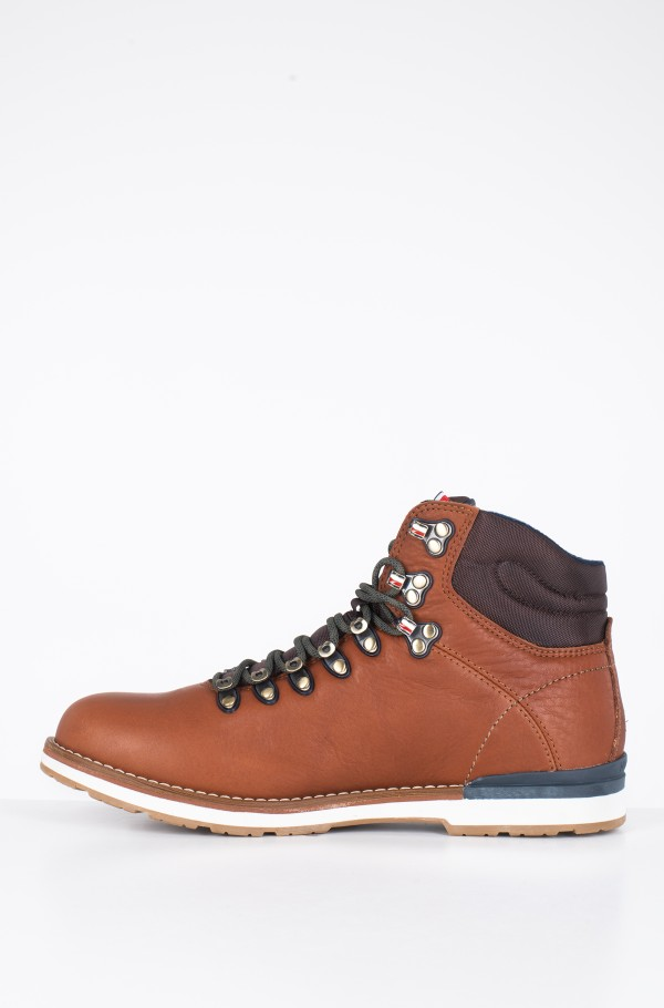 OUTDOOR HIKING LACE LEATHER BOOT-hover