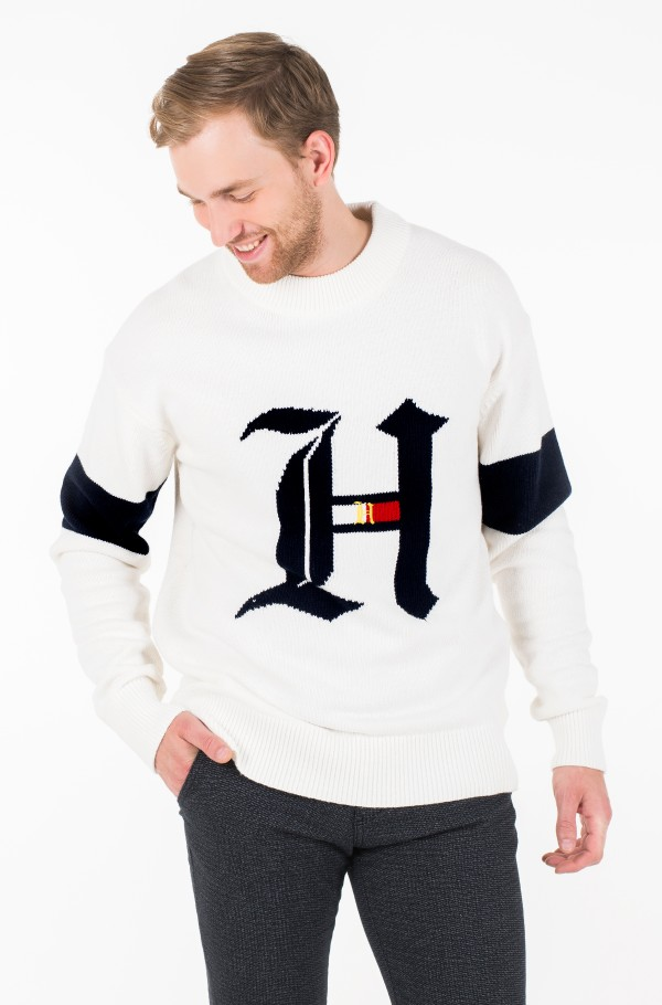 LH OVERSIZED GRAPHIC SWEATER