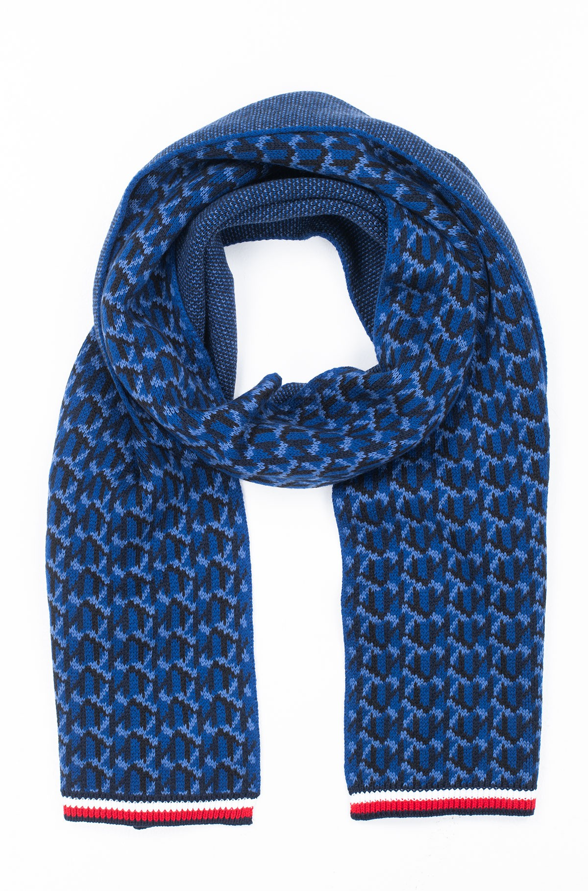 Šalikas TH MONOGRAM KNIT SCARF-full-1