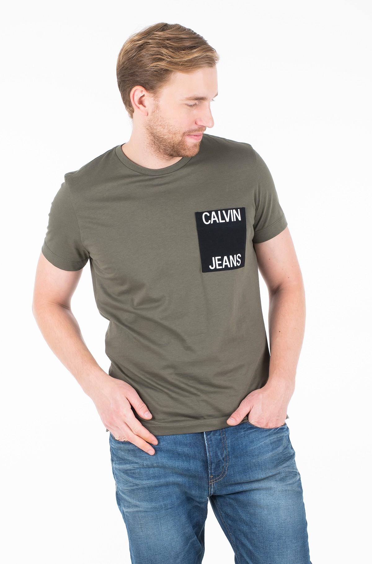 Marškinėliai CALVIN JEANS POCKET SLIM TEE-full-1