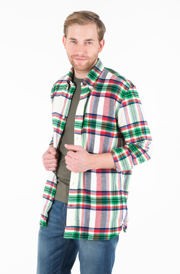 RELAXED BLOWN UP CHECK SHIRT