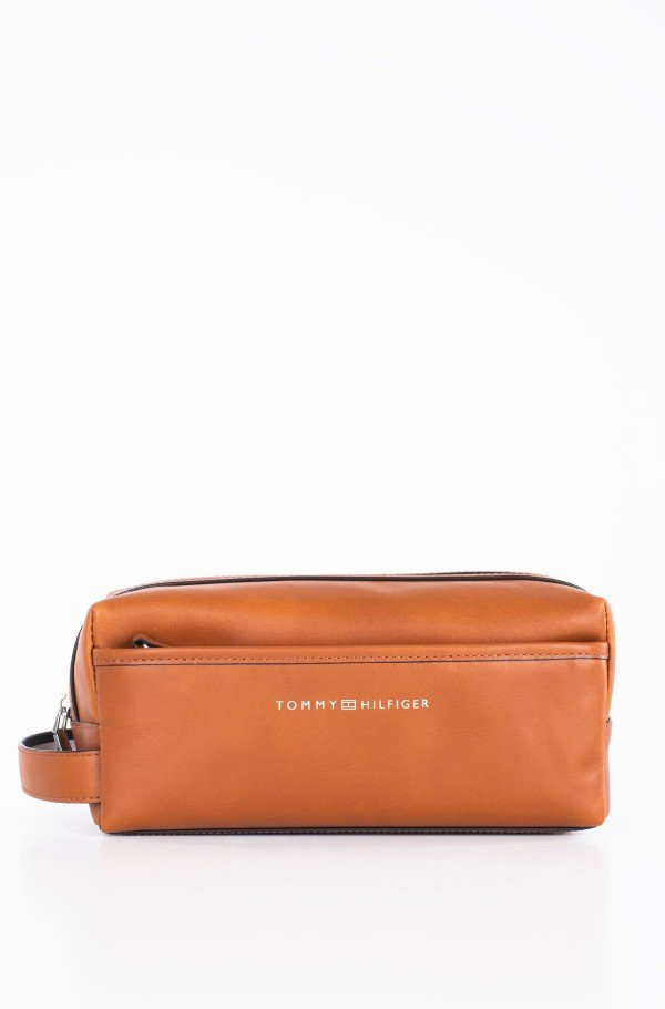 CASUAL LEATHER WASHBAG