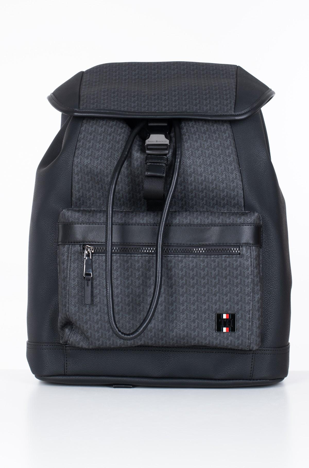 Backbag COATED CANVAS MONO FLAP BACKPACK-full-1