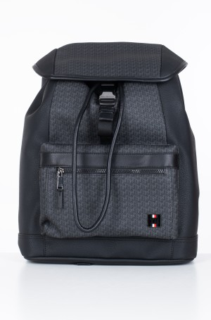 Backbag COATED CANVAS MONO FLAP BACKPACK-1