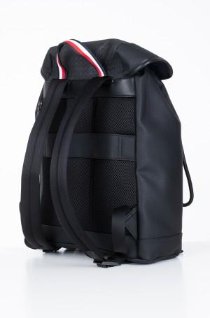 Backbag COATED CANVAS MONO FLAP BACKPACK-2