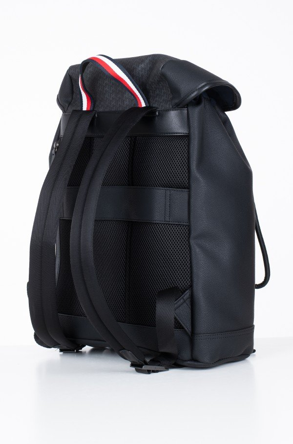 COATED CANVAS MONO FLAP BACKPACK-hover