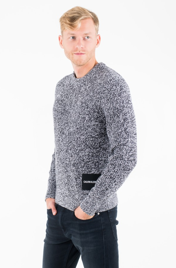 CARDIGAN STITCH CN SWEATER