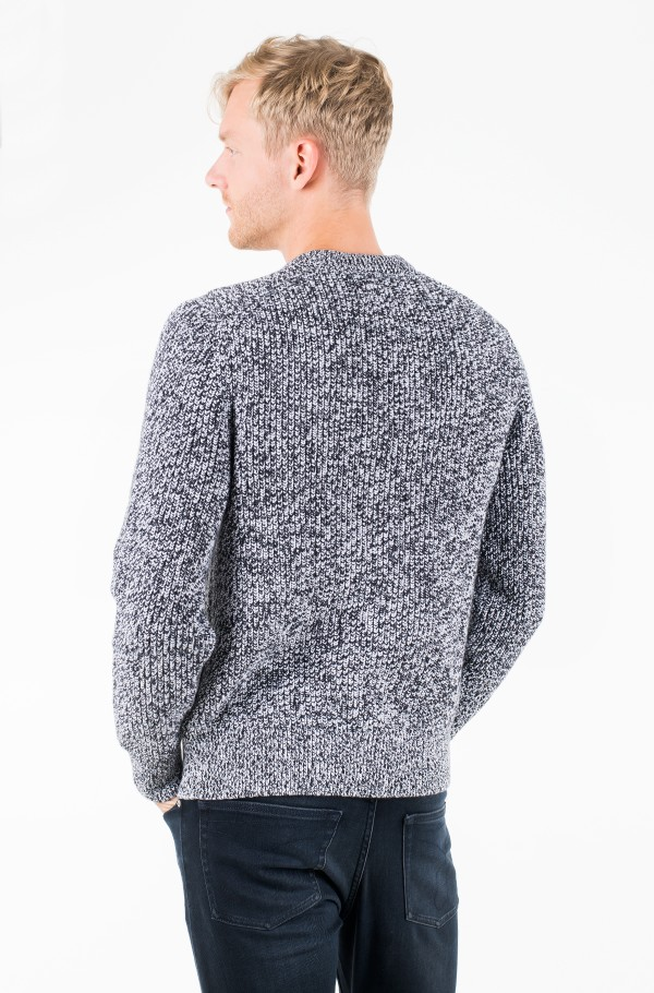 CARDIGAN STITCH CN SWEATER-hover