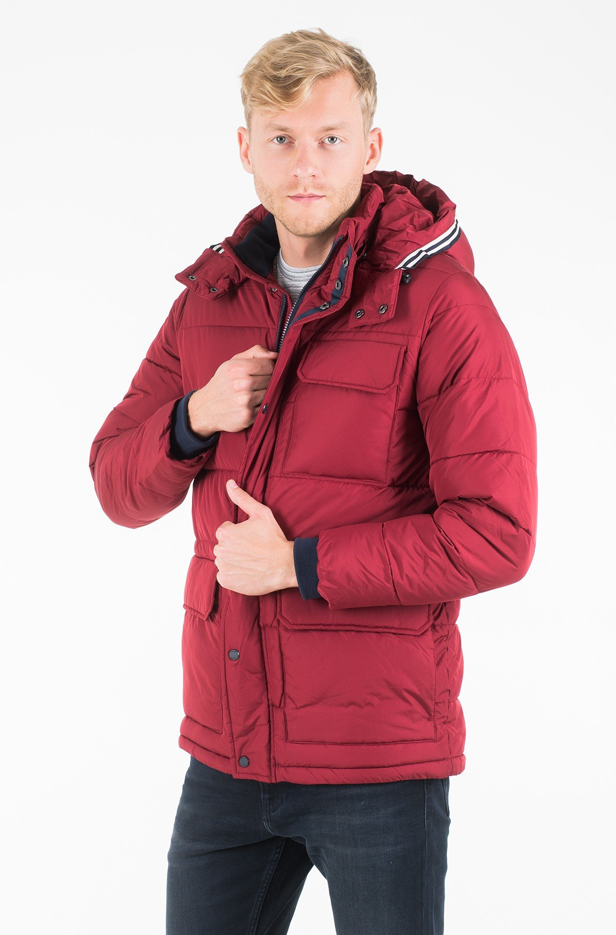 Striukė FAUX DOWN HOODED PARKA-full-1