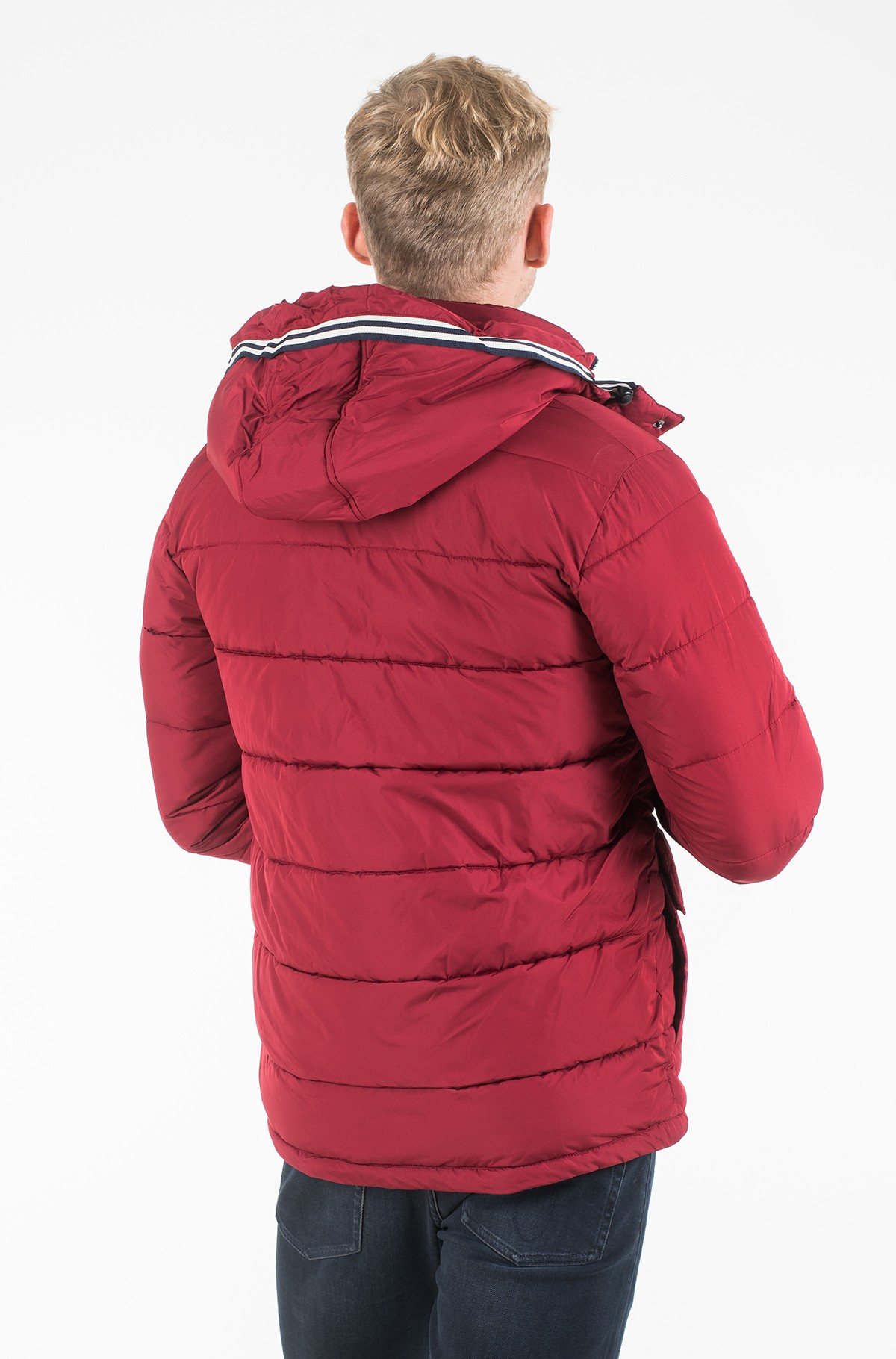 Striukė FAUX DOWN HOODED PARKA-full-2