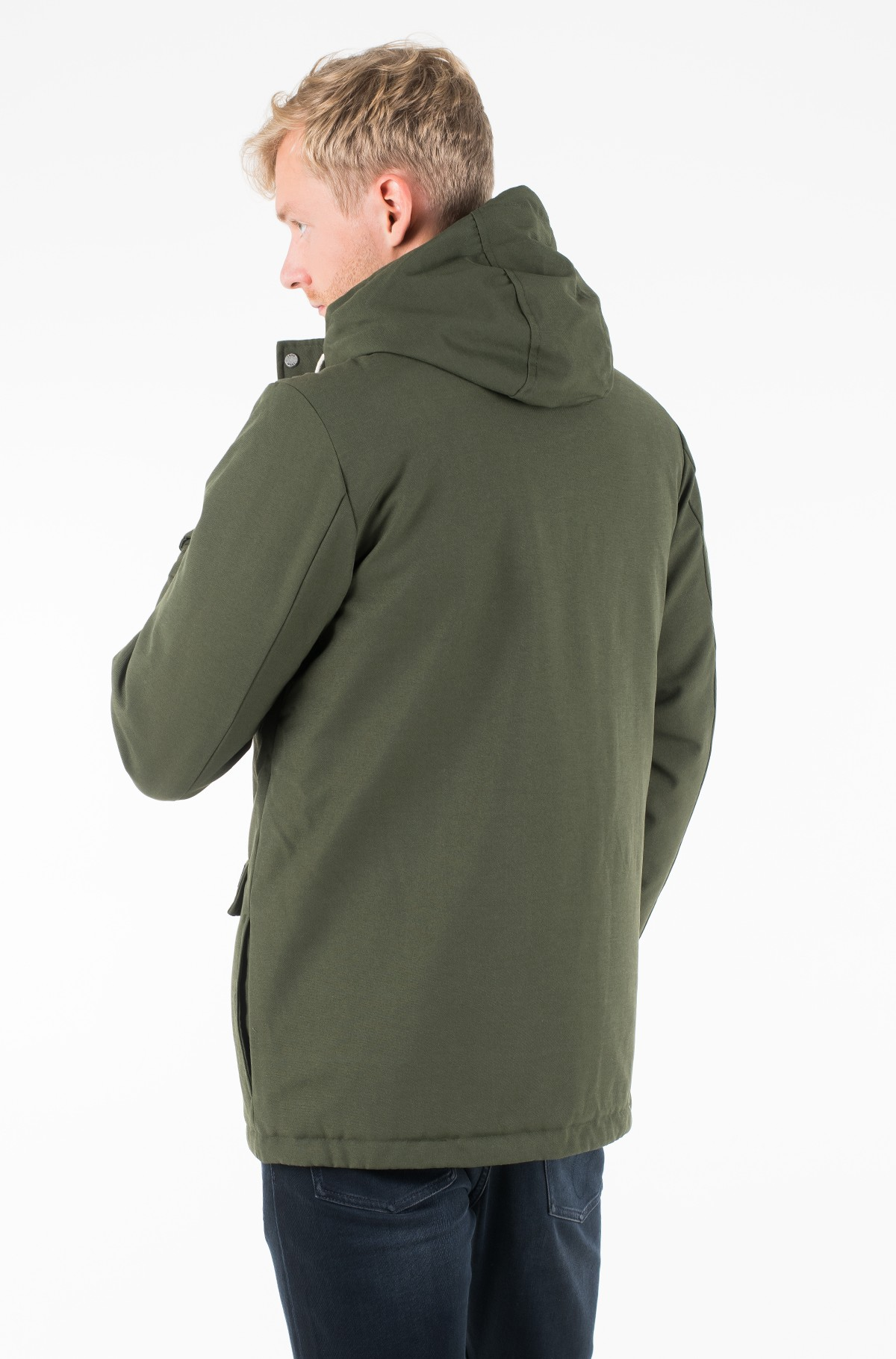 Skranda su gobtuvu CANVAS HOODED PARKA-full-2