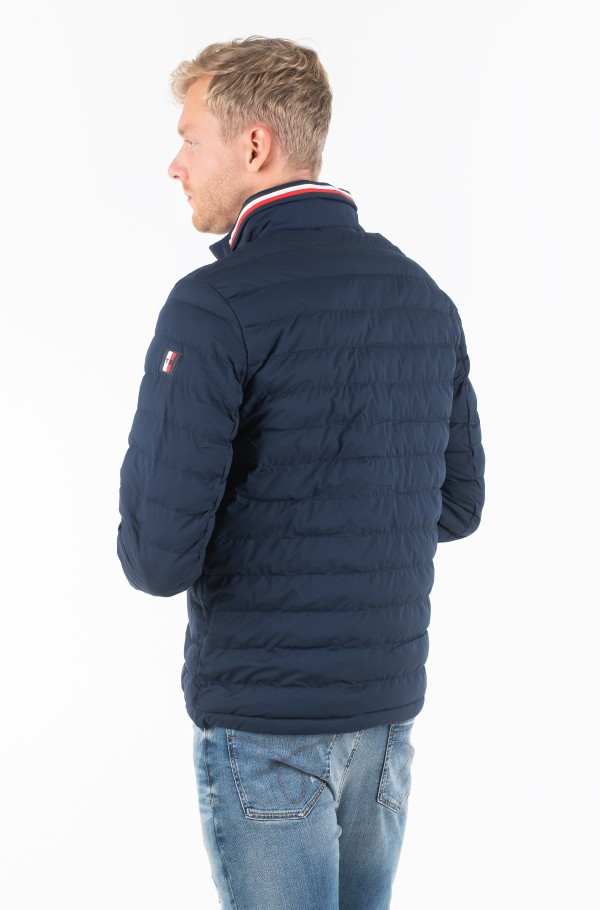 STRETCH QUILTED JACKET-hover