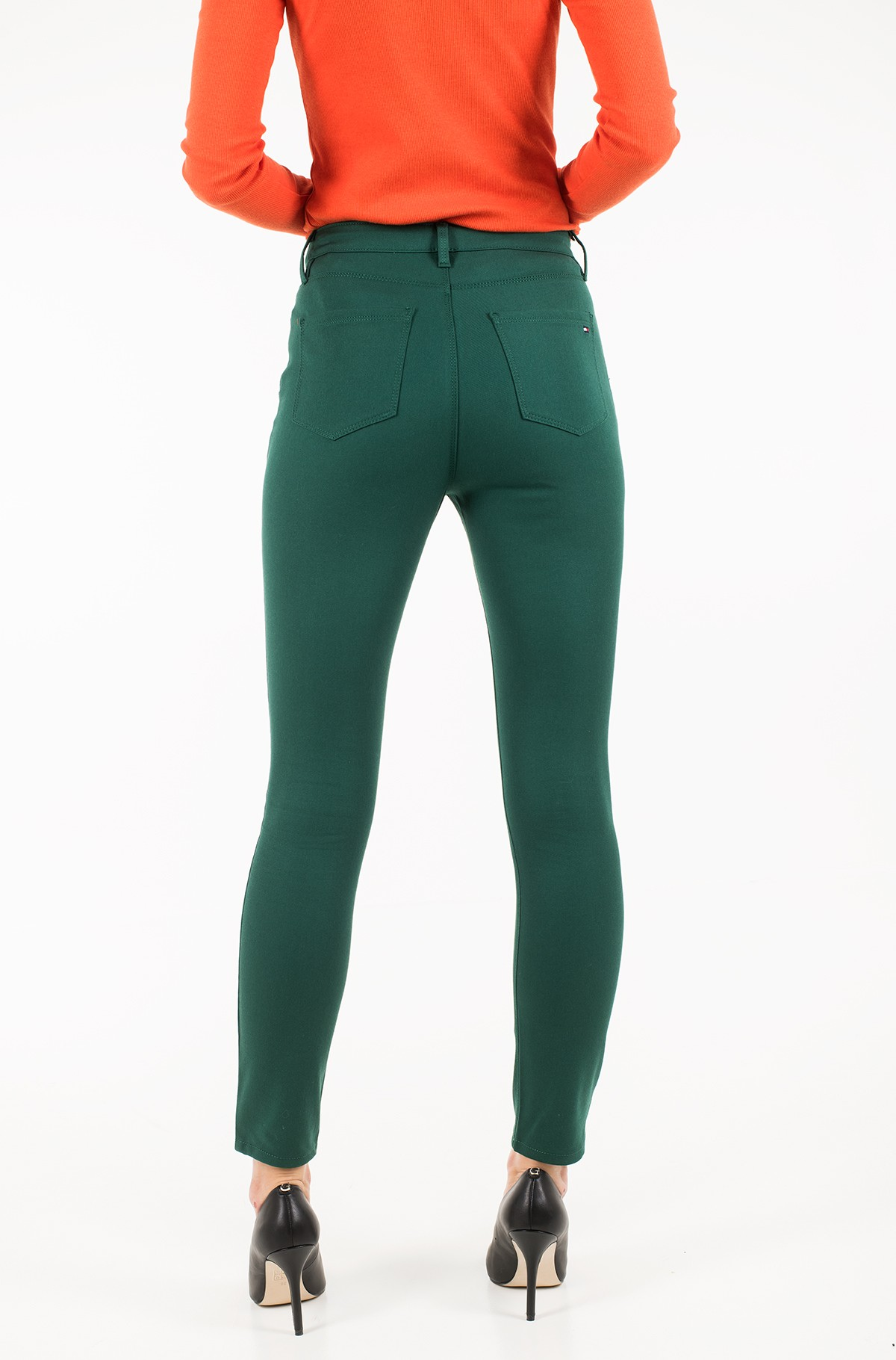 Trousers TH ESSENTIAL GABARDINE COMO PANT-full-3