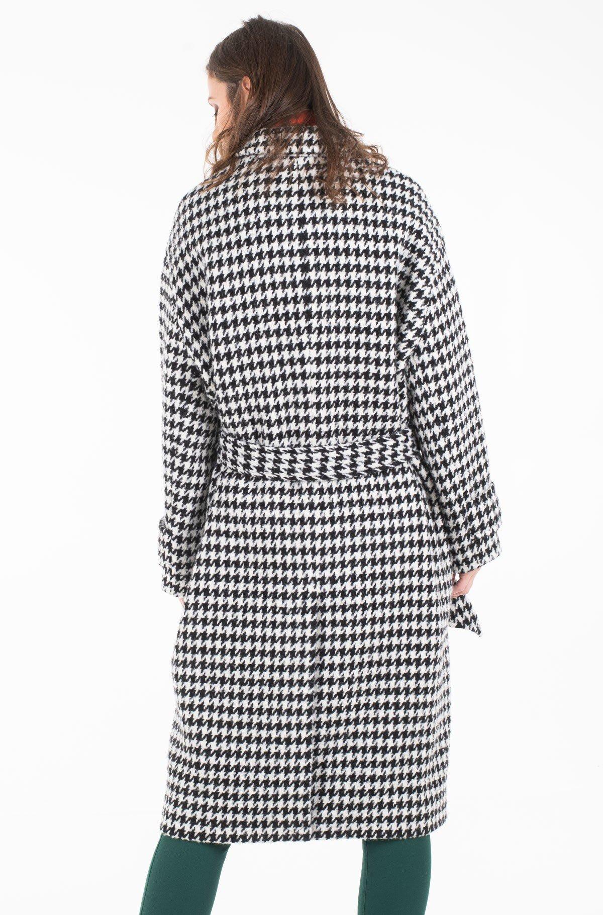 Coat NICO VISUAL WOOL BLEND COAT-full-2