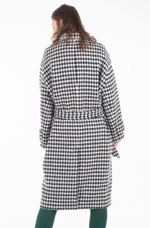 Coat NICO VISUAL WOOL BLEND COAT-2