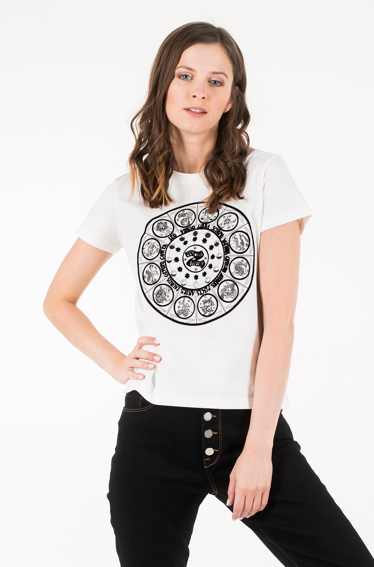 Marškinėliai ZENDAYA NEW ZODIAC TEE SS-full-1