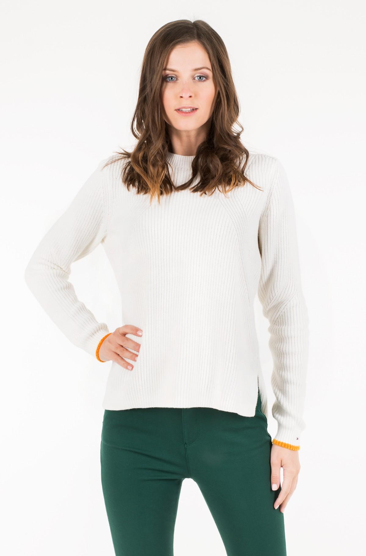 Sweater TJW SIDE SLIT CREW SWEATER-full-2
