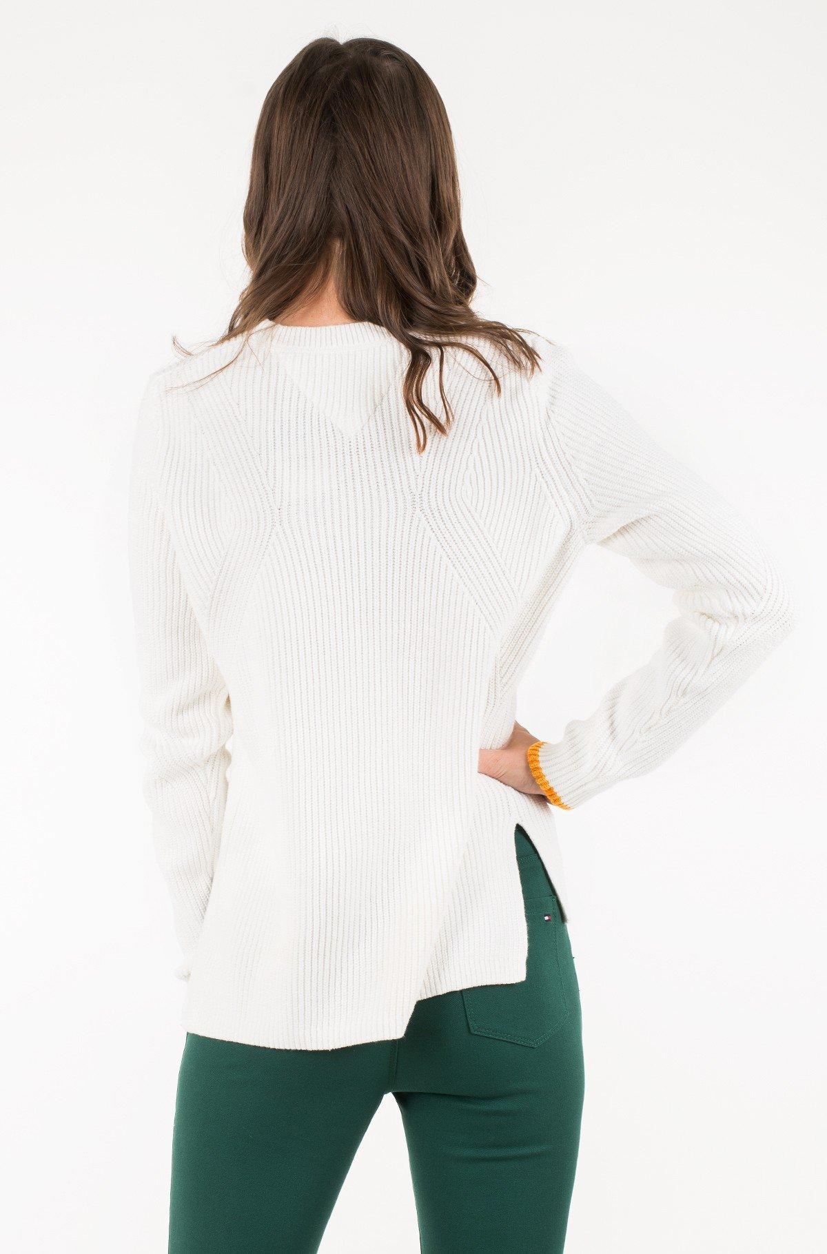 Sweater TJW SIDE SLIT CREW SWEATER-full-3