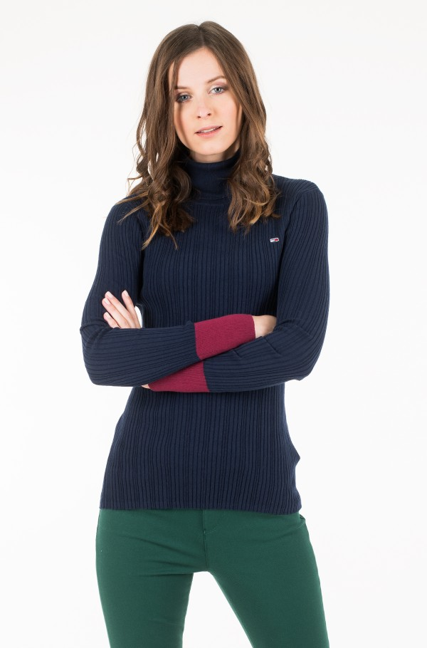 TJW FITTED ROLL NECK
