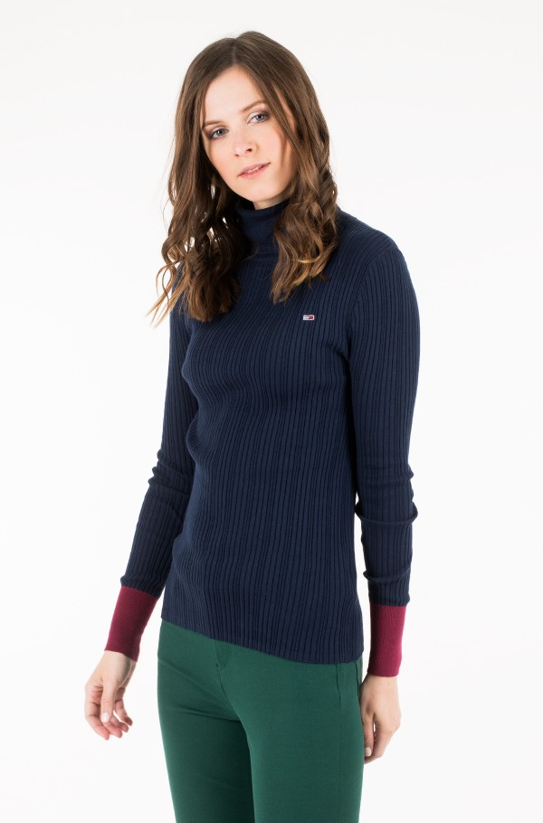 TJW FITTED ROLL NECK-hover