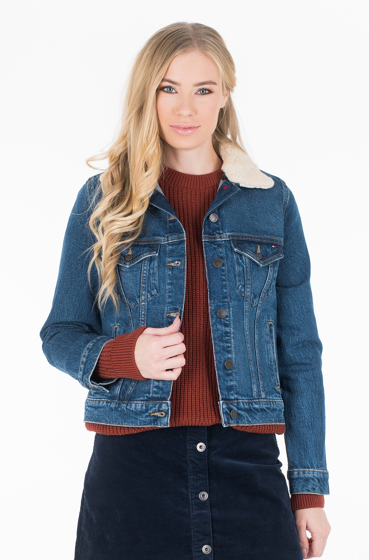 Denim jacket JACKET KODA-full-1