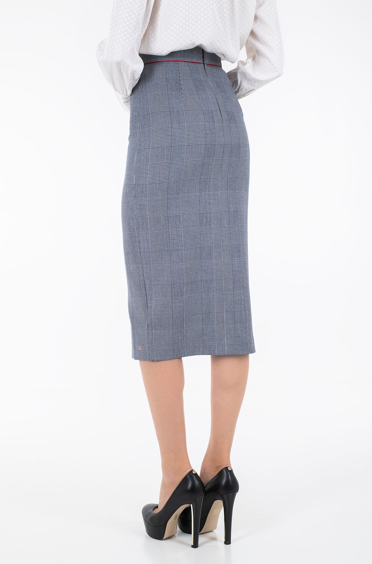 Sijonas FAUNA HW MIDI PENCIL SKIRT-full-2