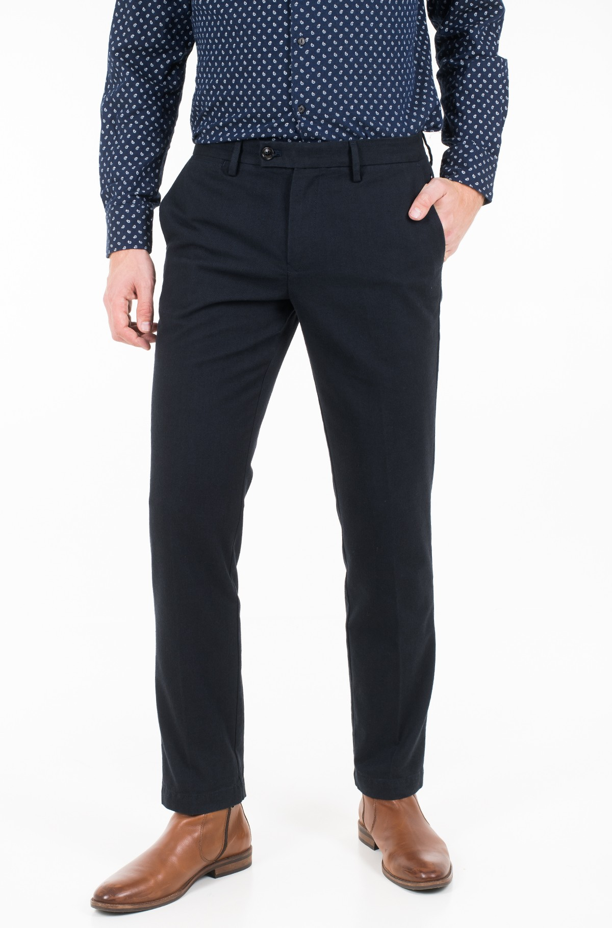 Trousers DENTON CHINO CLASSIC HERRINGBONE MW0MW11772-full-1