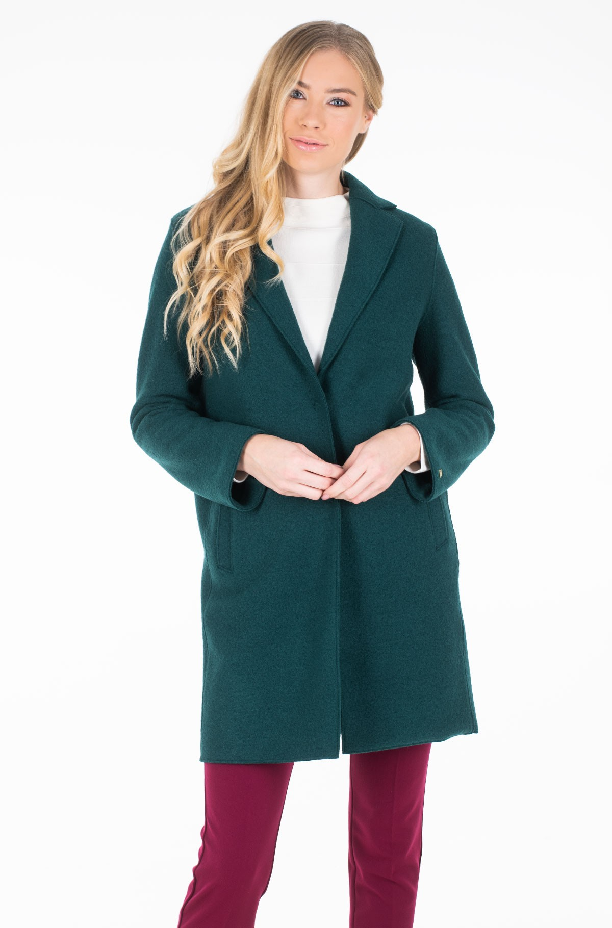 Coat RACHEL BOILED WOOL SB COAT-full-2
