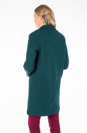 Paltas RACHEL BOILED WOOL SB COAT-3
