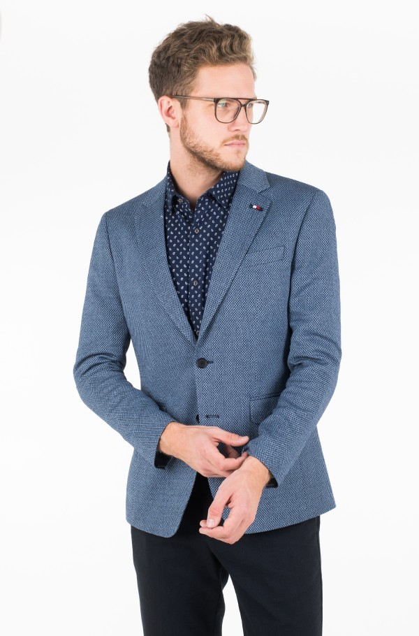 WOOL BLEND REGULAR FIT BLAZER