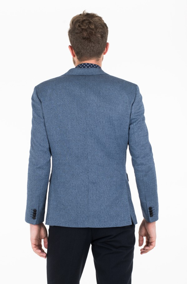 WOOL BLEND REGULAR FIT BLAZER-hover