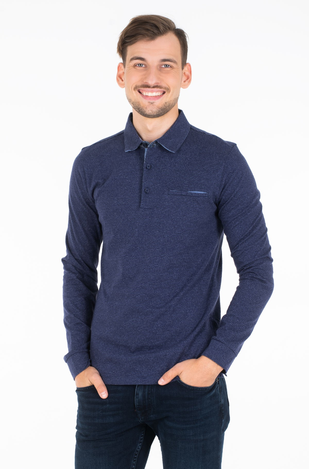 Polo marškinėliai ilgomis rankovėmis 53434-92307-full-1