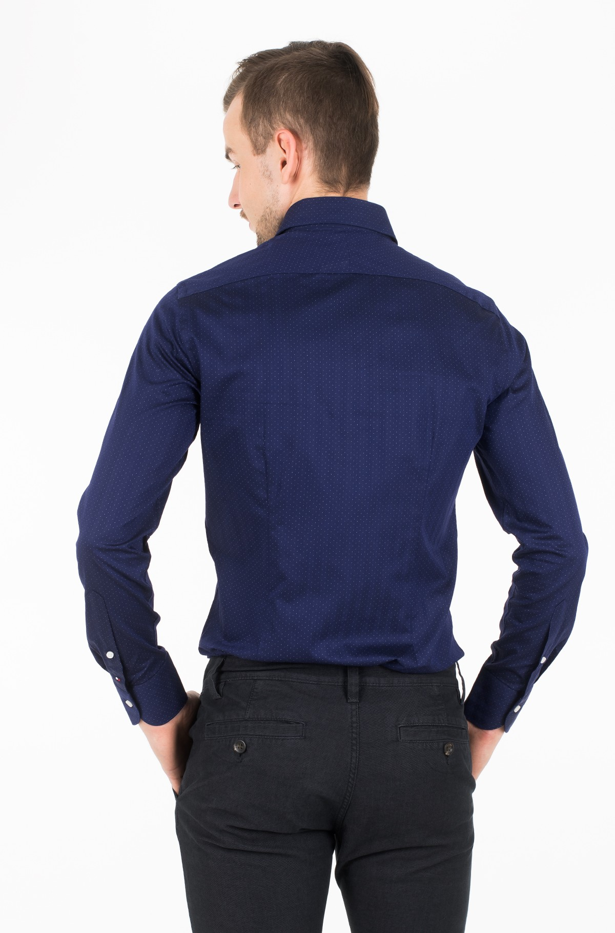 Marškiniai LUXURY DESIGN CLASSIC SLIM SHIRT-full-2