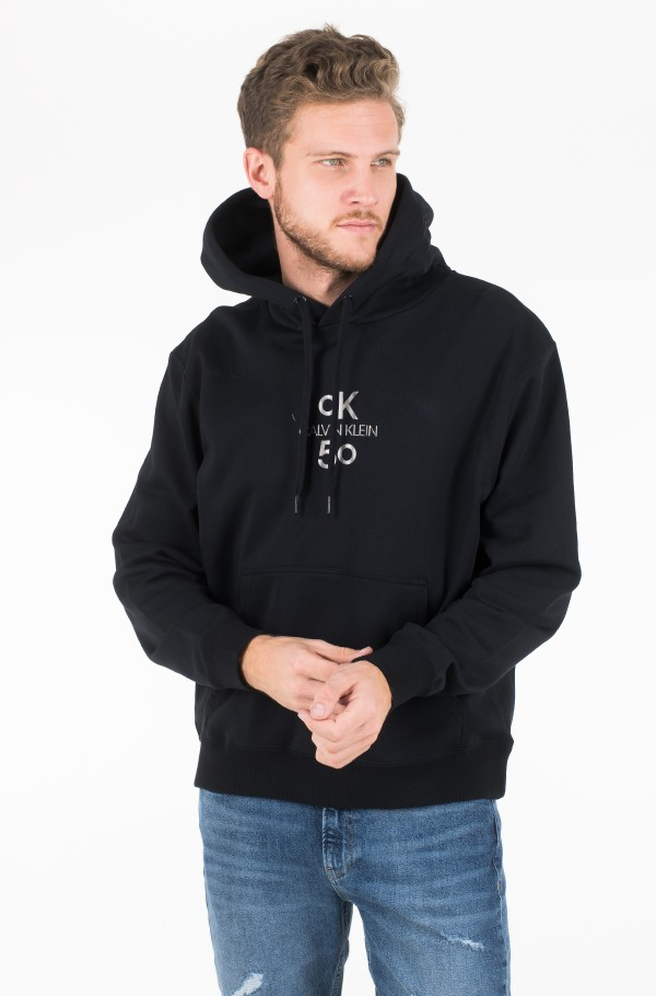 SMALL LOGO RELAXED  HOODIE