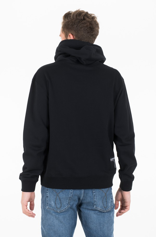 SMALL LOGO RELAXED  HOODIE-hover