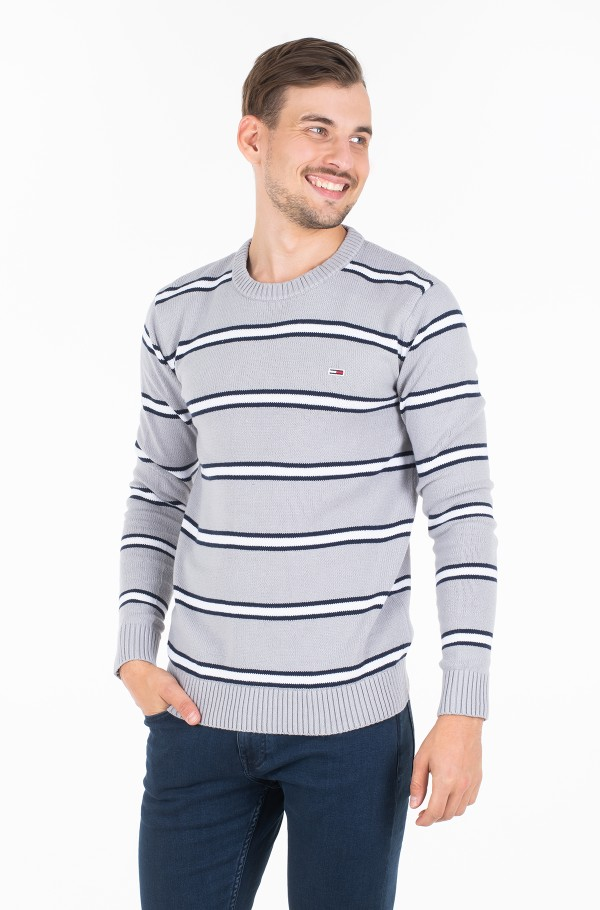 TJM FINE STRIPE SWEATER